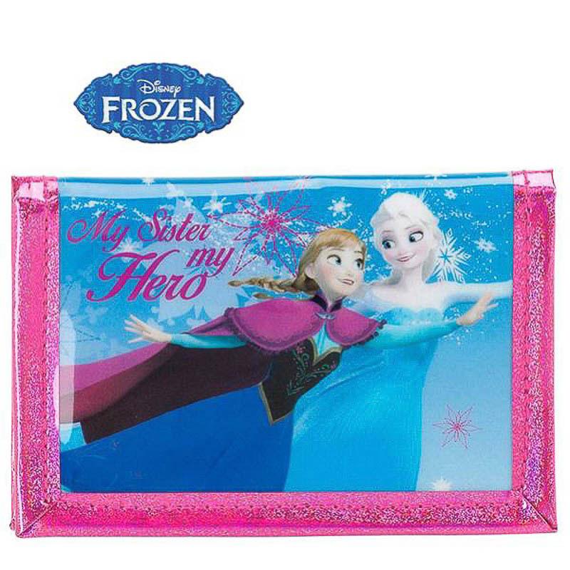Billetera Frozen infantil