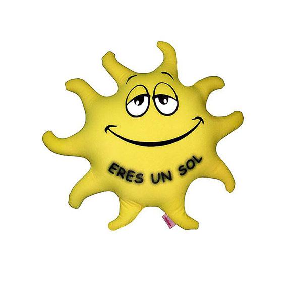 Cojín sol pequeño