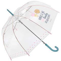 Paraguas Mr. Wonderful - Camina con alegría aunque llueva todo el día