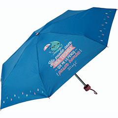Paraguas plegable pequeño Mr. Wonderful - Ya puede caer una tromba que me lo pienso pasar bomba