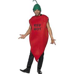 Disfraz guindilla roja