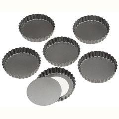 Moldes redondos desmontables 12,00 x 2,00 cm, Pack 6 u.