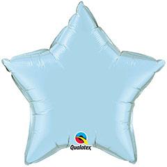 Globo Estrella Azul Cielo pastel