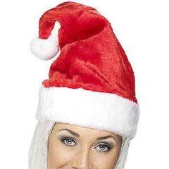 Gorro Papá Noel lujoso