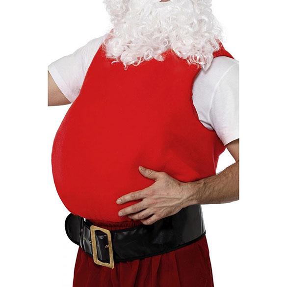 Barriga postiza de Santa Claus o Papa Noel