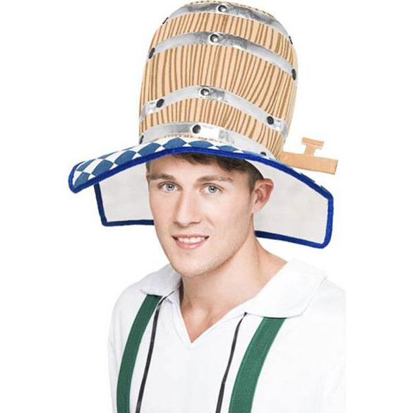 Sombrero barril de cerveza