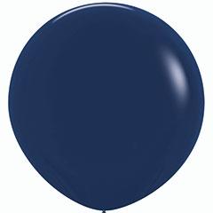 Globo de látex grande Azul 600 cm. 1 unidad