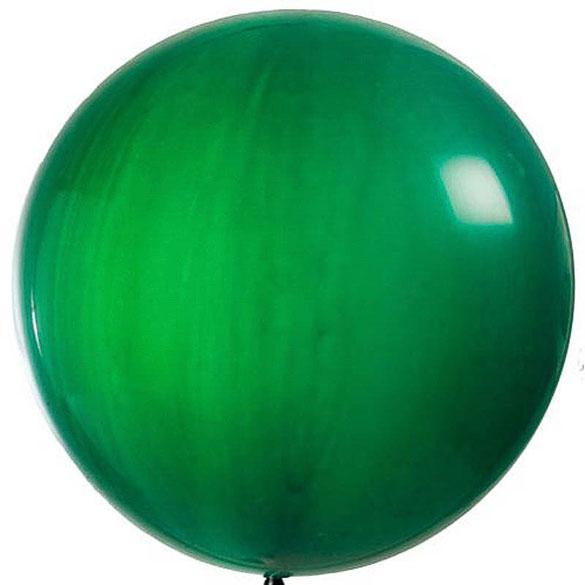 Globo de látex grande Verde 65 cm. 1 unidad