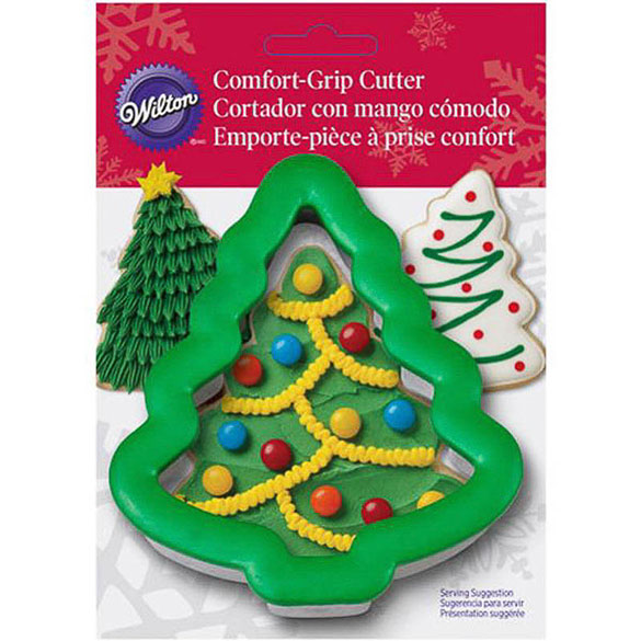 Cortador de galletas con forma de abeto Navidad