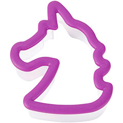 Cortador de galletas modelo Unicornio