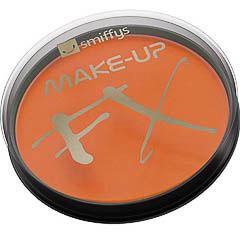 Maquillaje cara y cuerpo naranja