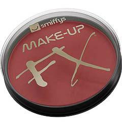 Maquillaje cara y cuerpo rojo