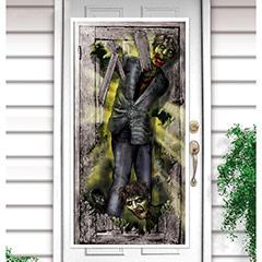 Decoración puerta Zombies
