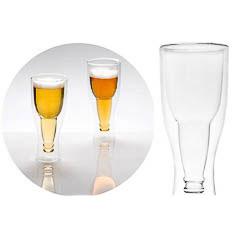 Juego dos vasos cerveza