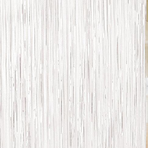Cortina flecos puerta BLANCA