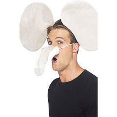 Nariz y orejas de elefante