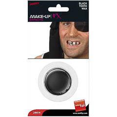 Maquillaje cera negra para dientes