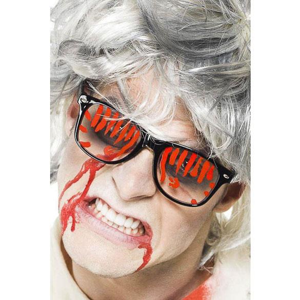 Gafas con sangre para Halloween