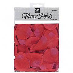 Bolsa confeti de tela rojo