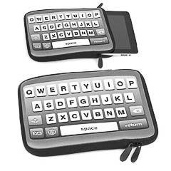 Funda para iPad modelo teclado ordenador