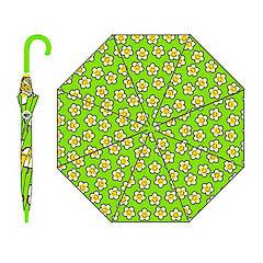 Paraguas Sonrisitas tela verde