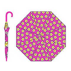Paraguas Sonrisitas tela fucsia