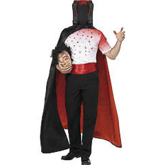 Disfraz hombre sin cabeza