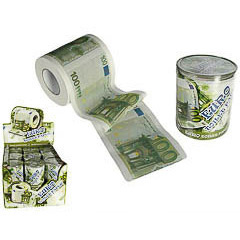 Papel WC 100 € - Ítem