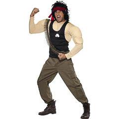 Disfraz Rambo