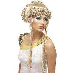 Peluca rubia griega