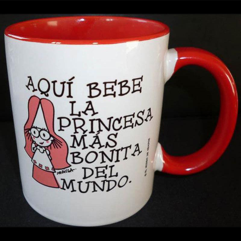 Taza bicolor Princesa
