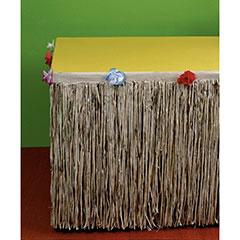 Faldón para mesa Hawaiana