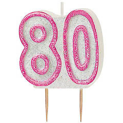 Vela cumpleaños 80 años - Ítem