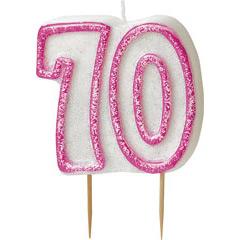 Vela cumpleaños 70 años