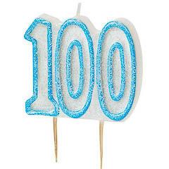 Vela cumpleaños 100 años - Ítem
