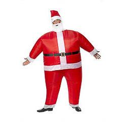 Disfraz Papá Noel inflable