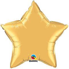 Globo Estrella Dorado