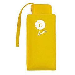 Paraguas Bisseti plegable mini señora amarillo