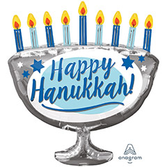 Globo Happy Hanukkah