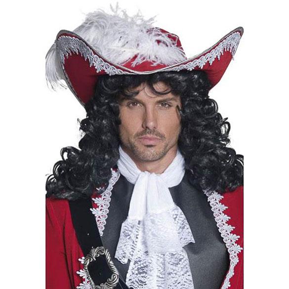 Sombrero Capitán Pirata de fieltro