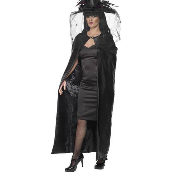 Capa negra bruja o vampiresa