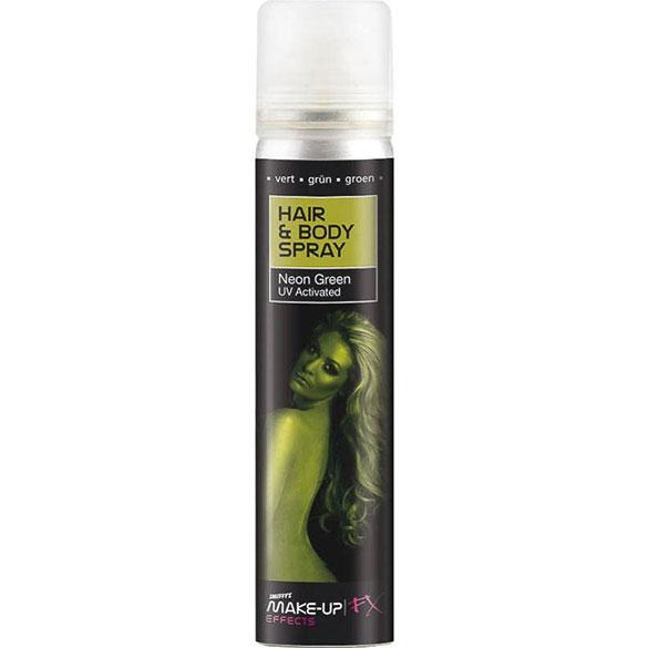 Spray cuerpo y pelo verde