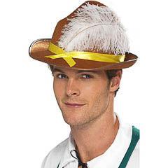Sombrero Tirolés o Bávaro talla única