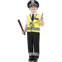Disfraz policia infantil