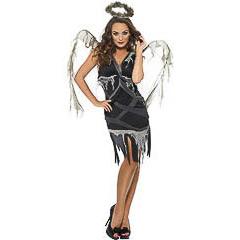 Disfraz ángel negro
