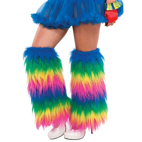 Calienta piernas arco iris