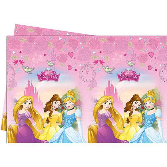 Mantel Princesas 180 x 120 cm plástico, Pack 1 u.