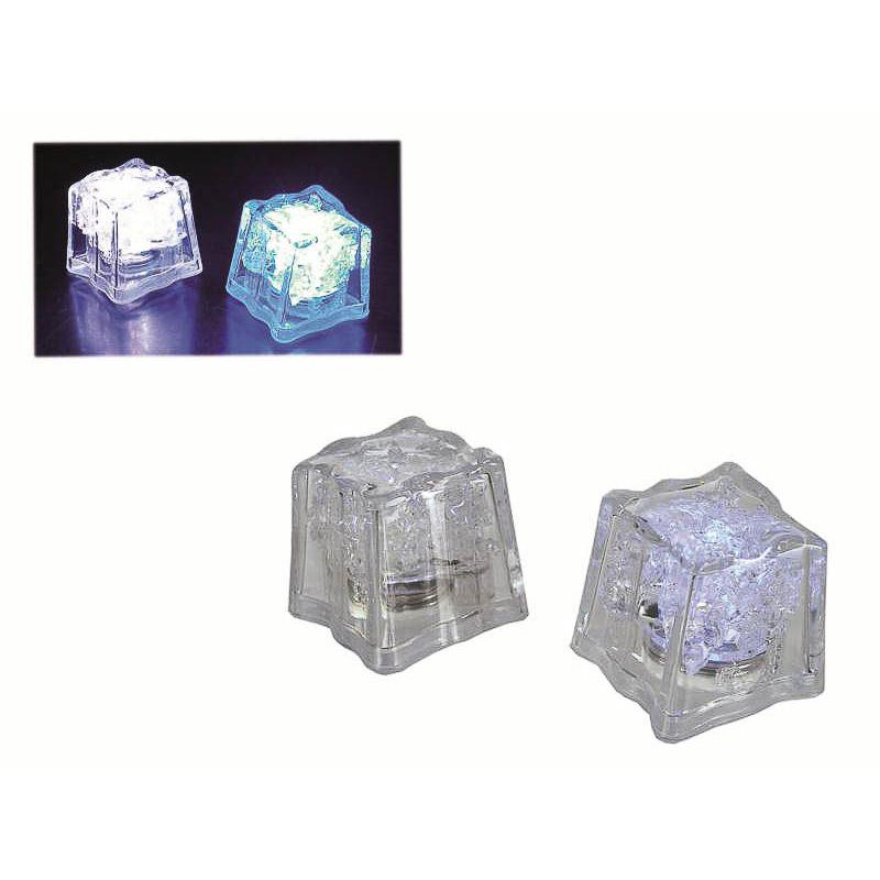 Cubitos de hielo con luz, Pack 4 u.