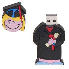 Memoria USB diplomada o graduada 8GB