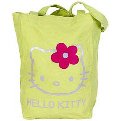 Bolsa de lona Hello Kitty